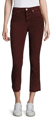 Amo Mid-Rise Ankle-Length Jeans