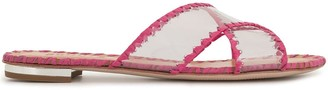 Schutz PVC stitched trim slides