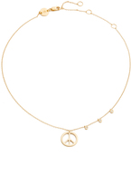 Jennifer Zeuner Jewelry Lou Chain Choker Necklace