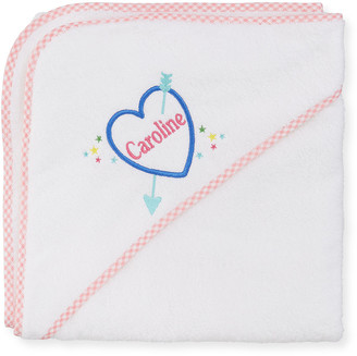 Cece Dupraz Kid's Terry Heart Hooded Towel, Personalized