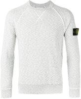 Stone Island arm patch sweatshirt