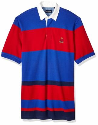 Chaps Men's Big and Tall Classic Fit Fashion Cotton Mesh Polo Shirt