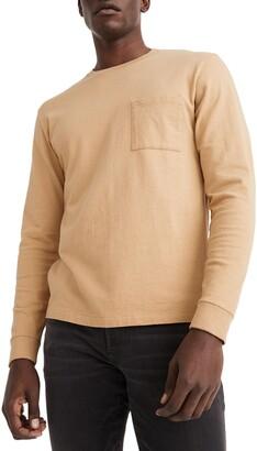 Madewell Relaxed Long Sleeve Organic Cotton T-Shirt