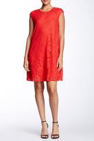 Max Studio Floral Lace Shift Dress