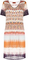 Missoni Panelled Knitted Dress