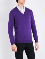 Polo Ralph Lauren Slim-fit V-neck cotton jumper
