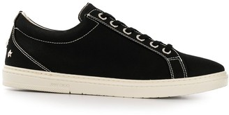 Jimmy Choo Cash canvas low-top sneakers
