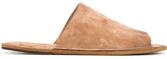 Marsèll Distressed Flat Slides