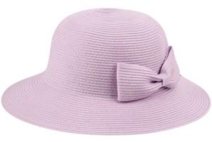 Epoch Hats Company Angela & William Poly Braid Bucket Sun Hat with Ribbon