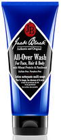 Jack Black All-Over Wash for Face Hair and Body with Wheat Protein and Panthenol