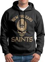 Sarah Men's New Orleans Saints Football Team Logo Hoodie XL