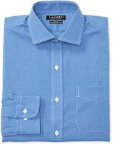 Lauren Ralph Lauren Men's Estate Slim-Fit Non-Iron Tattersall Stretch Dress Shirt