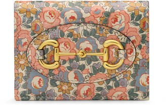 Gucci Horsebit 1955 Liberty London card case wallet