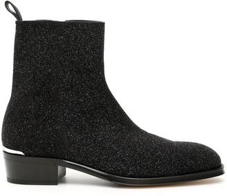 Alexander McQueen Zip-Up Ankle Boots
