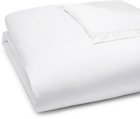 Amalia Home Collection Linen and Silk Hemstitch Duvet Cover, Queen