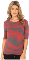 Free People Leader Of The Pack Striped Tee