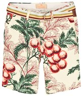 Scotch Shrunk Tropical Print Chino Shorts