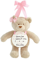 Mud Pie Girl Announcement Bear
