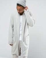 Asos Brushed Woven Shawl Neck Robe