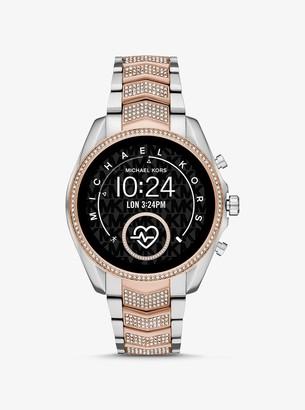 Michael Kors Gen 5 Bradshaw Pave Two-Tone Smartwatch
