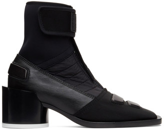 MM6 MAISON MARGIELA Black Moto Boots