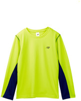 New Balance Long Sleeve Performance Shirt (Little Boys & Big Boys)