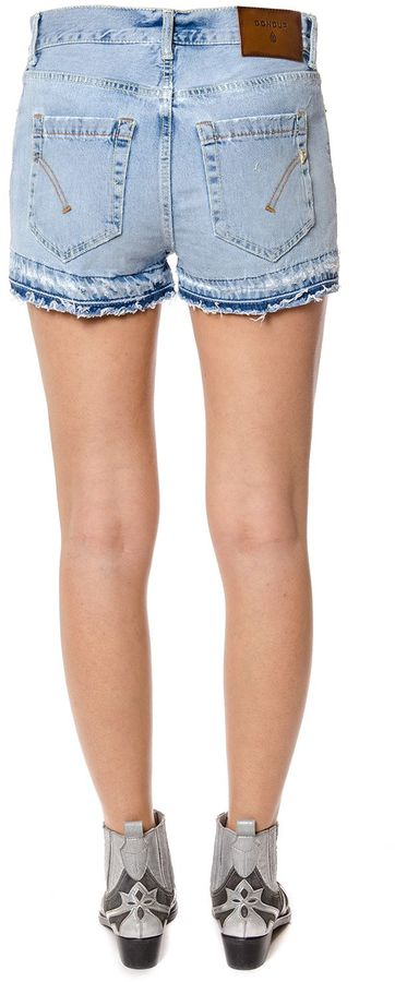 Dondup Up&down Distressed Denim Shorts