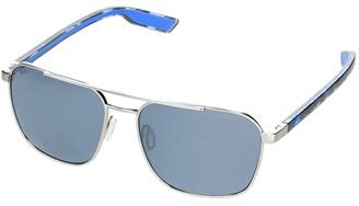 &'Costa Costa Wader (Antique Gold/Green Mirror Lens) Fashion Sunglasses