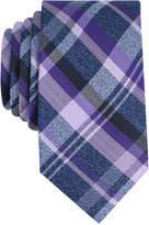Perry Ellis Men's Twine Plaid Silk Tie