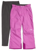 The North Face 'Snowquest' Triclimate ® Waterproof Snowsports Pants (Big Girls)