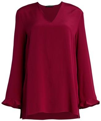 Etro Camarillo Bell-Sleeve Silk Blouse