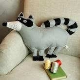 CUDDLEFELT Raccoon Cushion