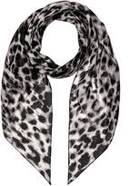 Saint Laurent Silk Animalier Scarf