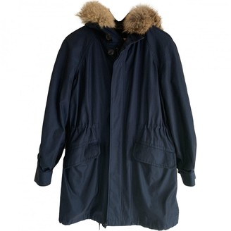 Marc by Marc Jacobs Navy Cotton Coat for Women