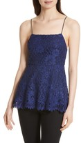 Alice + Olivia Women's Maxine Lace Peplum Camisole