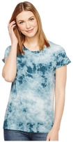 Alternative Cotton Jersey Tie-Dye Distressed Vintage Tee Women's T Shirt