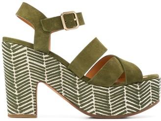 Chie Mihara Yaris 115mm platform sandals