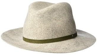 Rag & Bone Floppy Brim Fedora (Natural Melange) Fedora Hats
