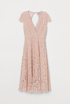 H&M Lace V-neck dress
