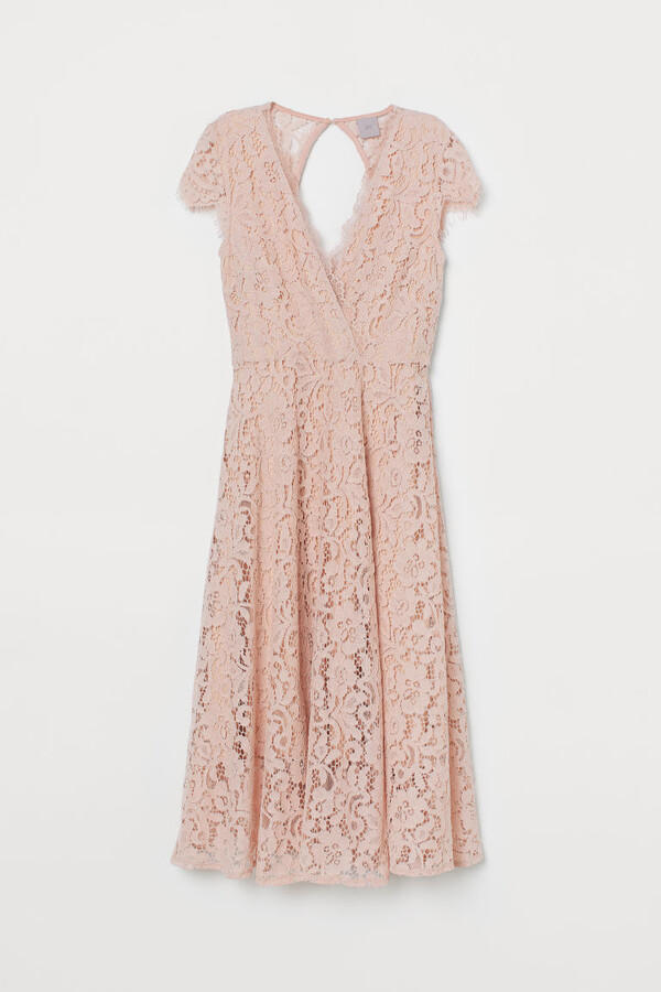 Thumbnail for your product : H&M Lace V-neck dress