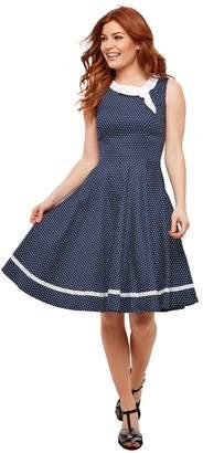 Joe Browns Polka Dot Cotton Swing Dress
