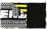 Kenzo racing scarf - women - Cotton - One Size