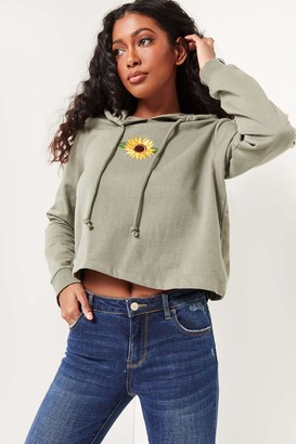 Ardene Embroidered Hoodie