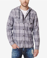 Buffalo David Bitton Men's Siklaus Plaid Hooded Shirt