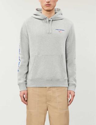 Polo Ralph Lauren Logo cotton-jersey hoody