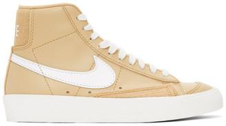 Nike Beige Blazer Mid 77 Sneakers