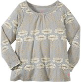 Pink Chicken Tara Top (Toddler/Kid) - Grey Stem Floral-5 Years