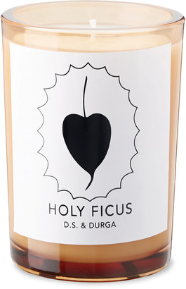 D.S. & Durga Holy Ficus Scented Candle, 200g