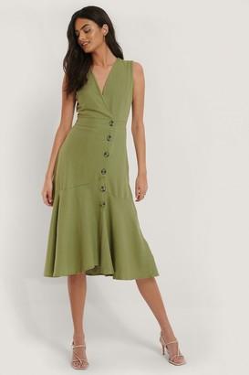 Trendyol Button Flared Dress
