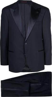Brunello Cucinelli V-Neck Tuxedo Jacket